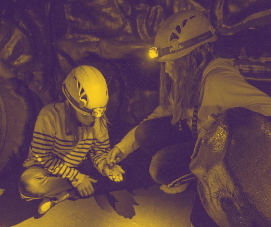 Luolaseikkailussa on tutkittavaa vaikka kuinka